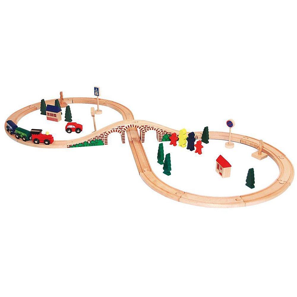 Дървени влакчета и влакови композиции (63)