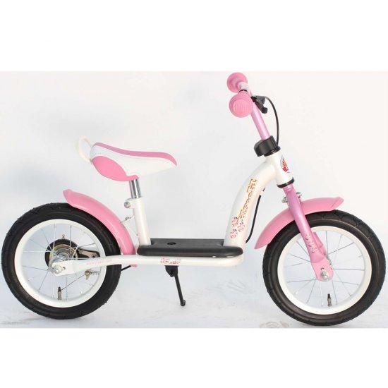 Метално детско балансно колело - розово