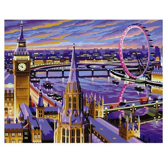 Рисуване по номера, голям размер - Лондон