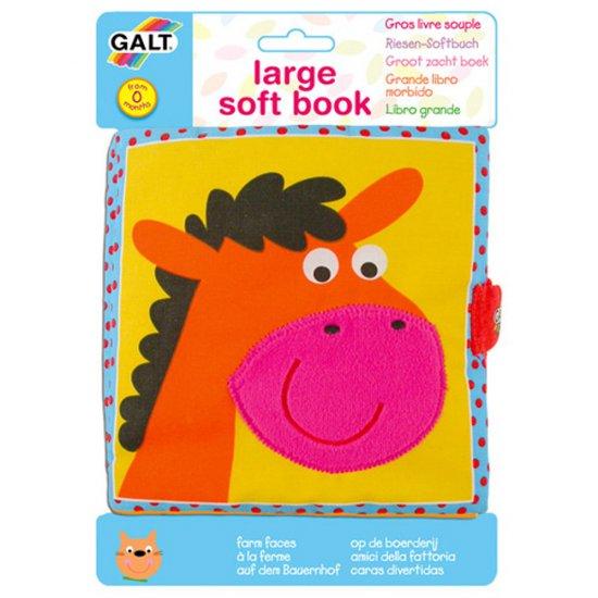 "Мека бебешка книжка ""Животните от фермата"""