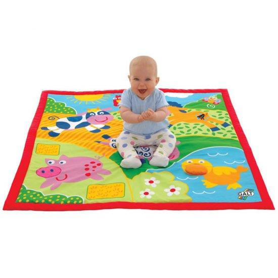 "Голямо бебешко килимче ""Ферма"""