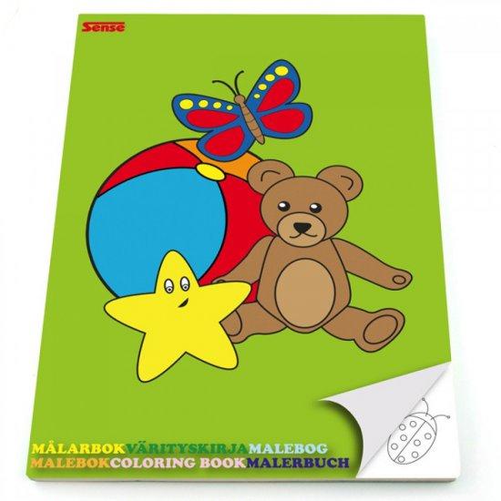 Книжка за оцветяване за най-малките