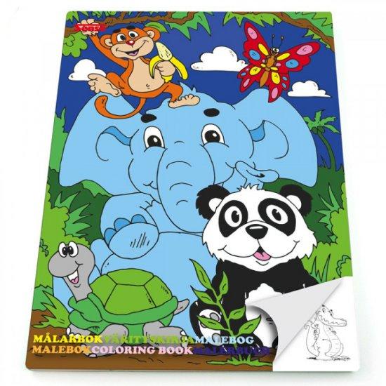 Книжка за оцветяване - Сладки животни