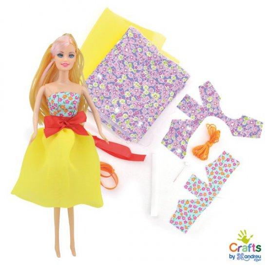 Дизайнерски комплект с кукла