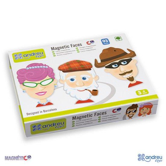 Детска игра с магнитни лица