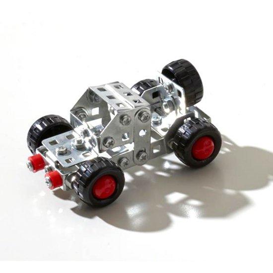 Метален конструктор, Джип, 90 части, Silver Serie