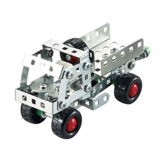 Метален конструктор, Камион, 112 части, Silver Serie