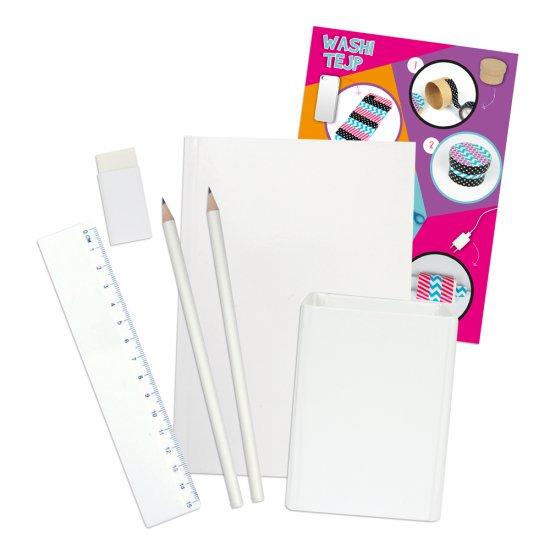 Комплект за апликации с декоративно тиксо WASHI TAPE