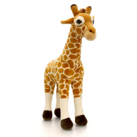 Плюшен жираф, 35 см, Диви животни