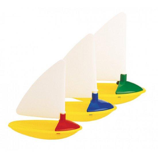 Играчка за баня за бебе  - три лодки