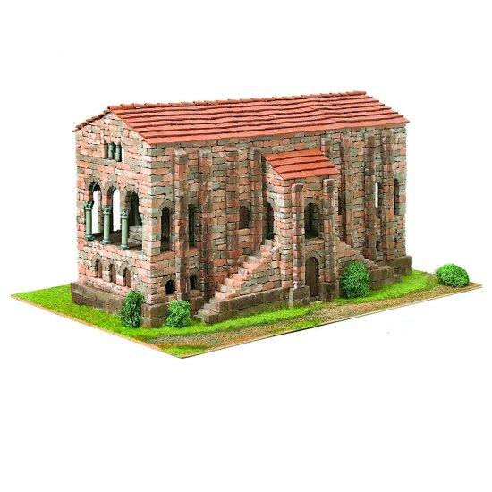 Модел за сглобяване Романика 13 - Църква St. María de Naranco
