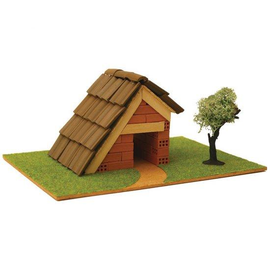 Къща за сглобяване с истински тухли, комплект за начинаещи 1