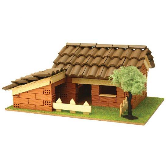 Къща за сглобяване с истински тухли, комплект за начинаещи 4