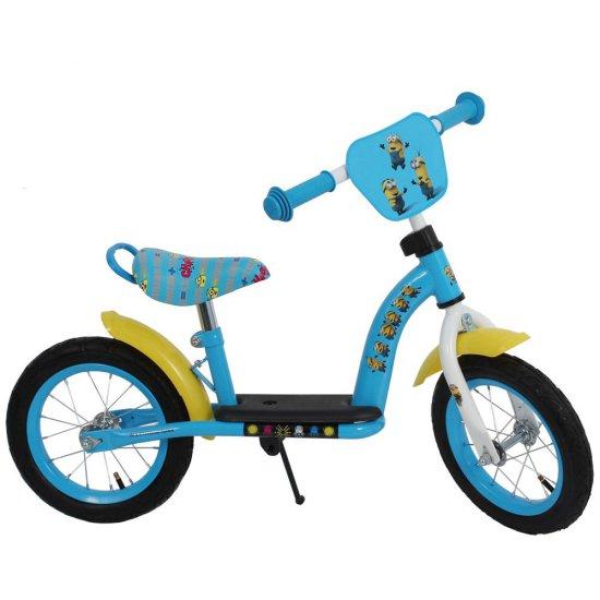 Метално колело за баланс Миньоните, 12 инча