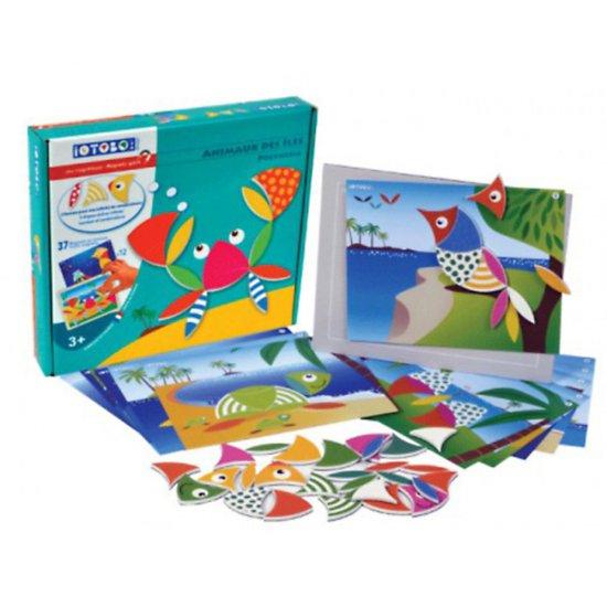 Магнитна игра IOTOBO - Забавни животни, Полинезия