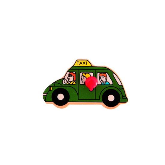 Дървен пъзел с дръжки - Транспортни средства
