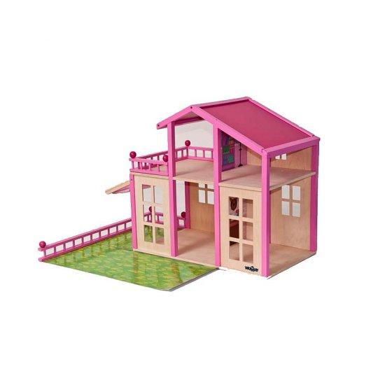 Дървена къща за кукли - Брита