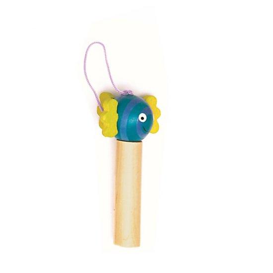 Дървенa детска свиркa - Рибка