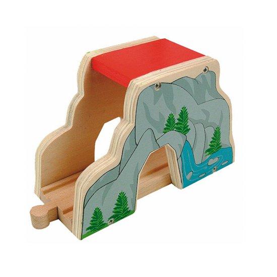 ЖП аксесоар - Дървен тунел