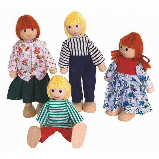 Кукли, семейство - 4 броя