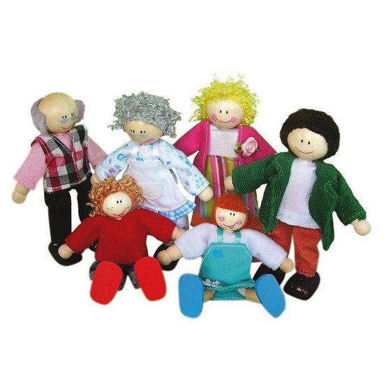 Кукли - семейство, 6 части