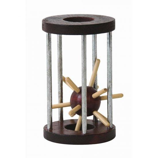 Дървена главоблъсканица в клетка