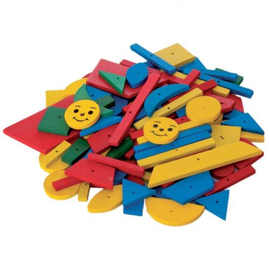 Дървена игра - Дъска с чукче