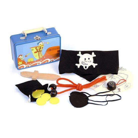 Пиратски аксесоари в метално куфарче