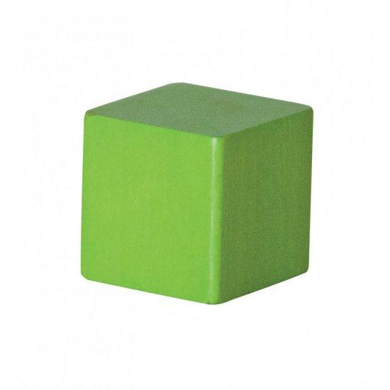 Цветен дървен конструктор, 75 части