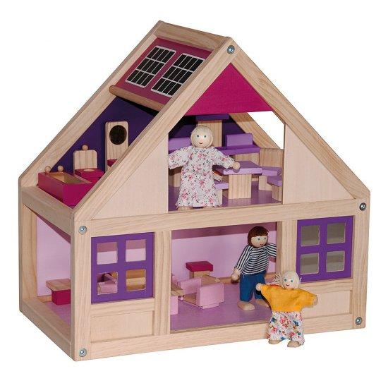 """Къща за кукли """"Тренди"""" с обзавеждане"""