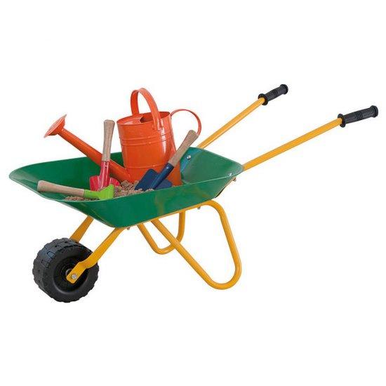 Градинска количка - зелена