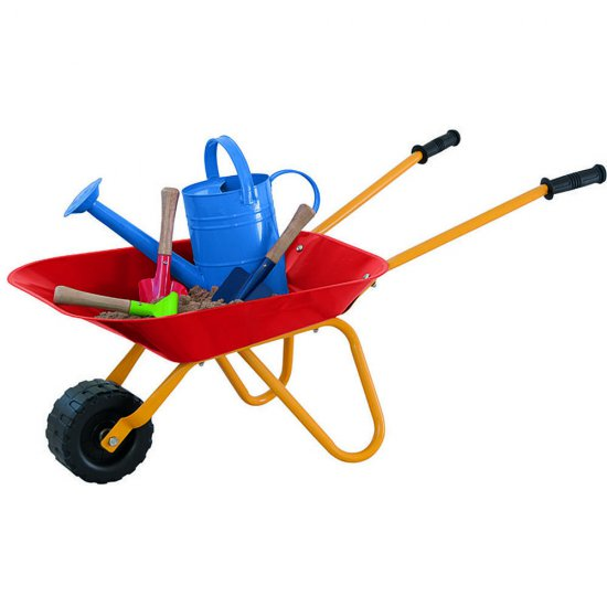 Градинска количка - червена