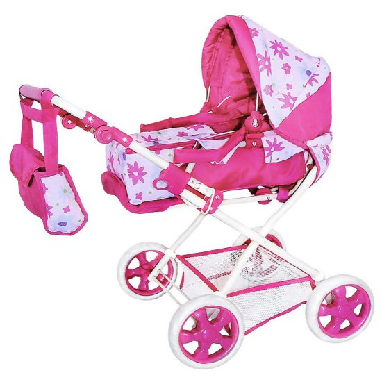 Зимна количка за бебе - играчка