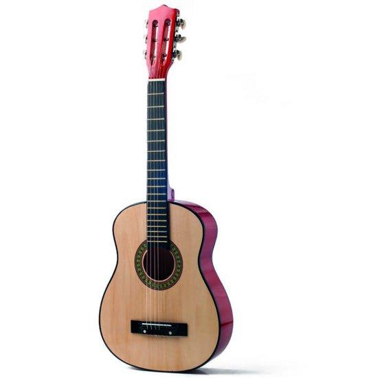 Дървена китара - голяма