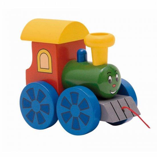 """Играчка за дърпане """"Веселото локомотивче"""""""
