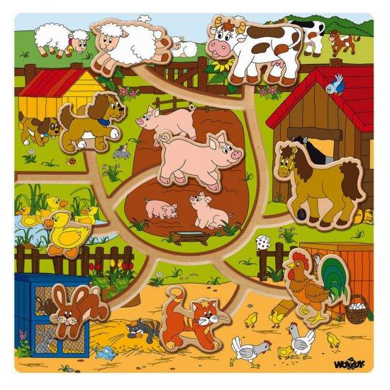 "Лабиринт ""Ферма"" с движещи се животни"