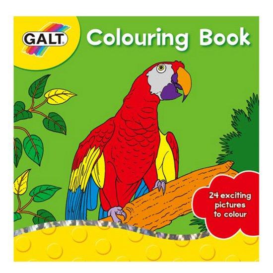 Книжка за оцветяване - Папагал