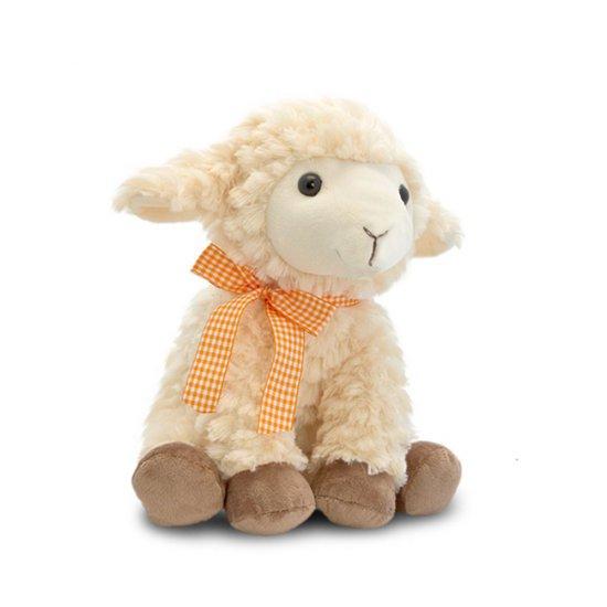 Седнала овца, плюшена играчка, 30 см