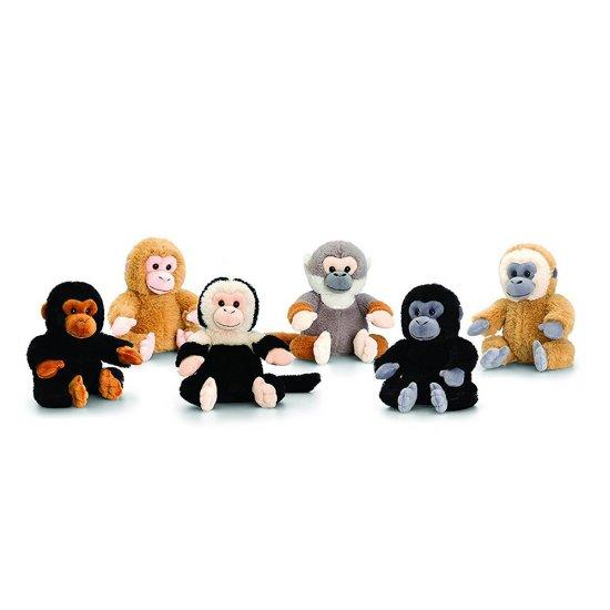 Плюшена маймуна, 16 см, 6 цвята