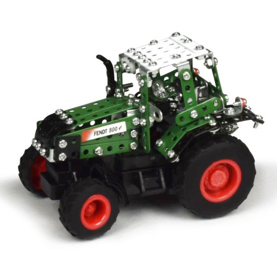 Метален конструктор Трактор Fendt 800 Vario Tractor, 201 части, Micro Series