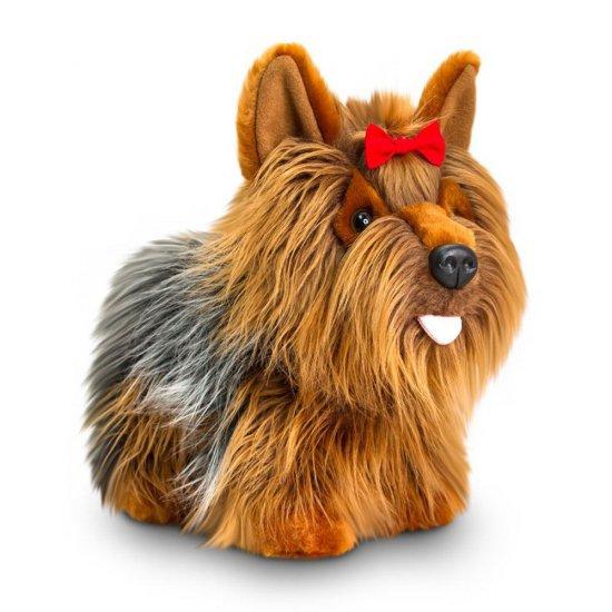 Плюшено куче, Йорки, стоящо, 40 см