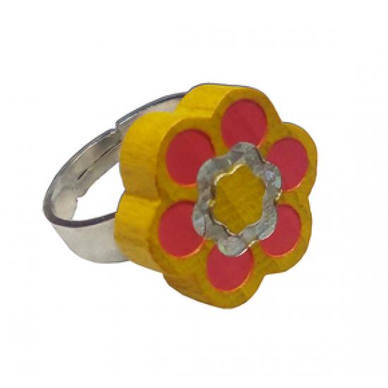 Пръстенче - Жълто цвете