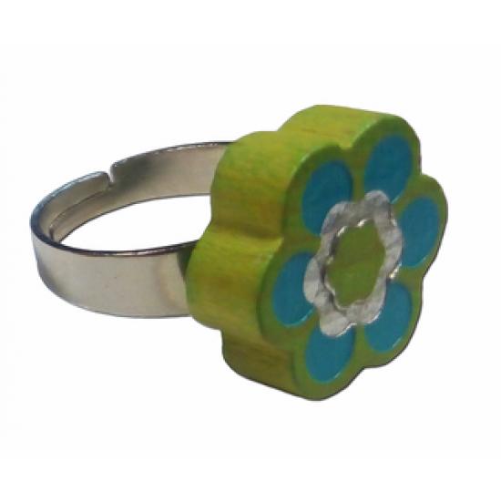 Пръстенче - Зелено цвете