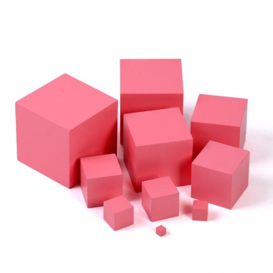 Розовата кула - Монтесори материали