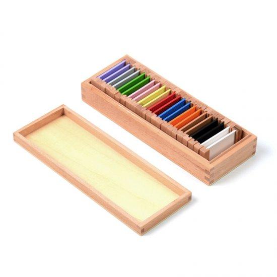 Цветна кутия номер 2 - Монтесори материали