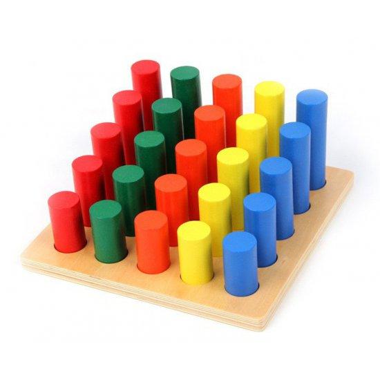 Стълба с цилиндри - Монтесори материали