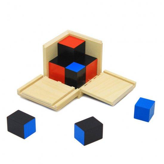 Биномен куб - Монтесори материали