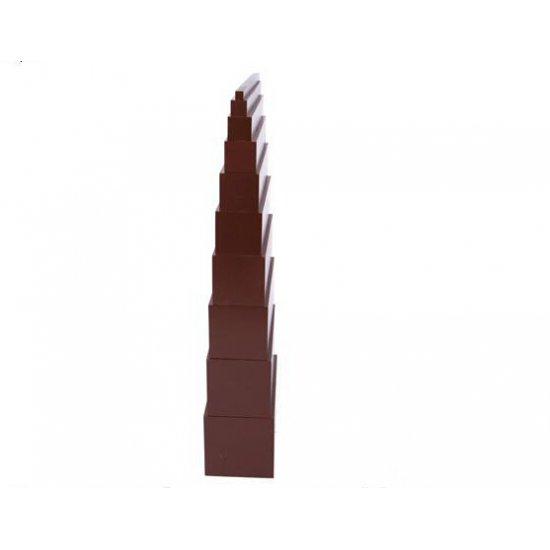 Кафява стълба / Широки стълби - Монтесори материали