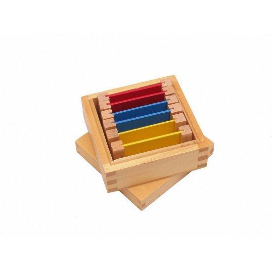 Цветна кутия номер 1 - Монтесори материали
