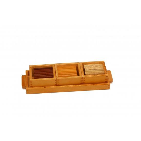 Барометърни малки плочки с различно тегло - Монтесори материали